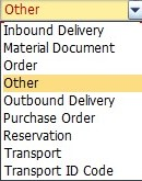Path to SAP Goods Receipt Transaction for Unknown Purchase Order (PO) Number