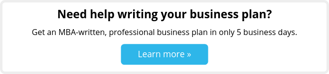 Get an MBA-written, professional business plan in only 5 days.