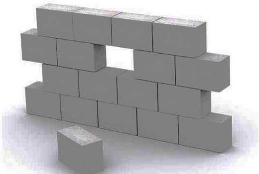 куб газоблоков